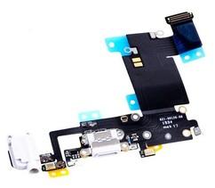 Шлейф разъема зарядки для Apple iPhone 6S Plus (Charge Conn), цвет: белый