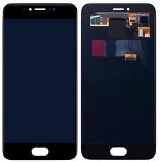 Экран для Meizu Pro 6 (Pro6) с тачскрином, цвет: черный