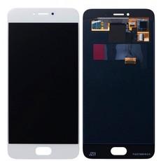 Экран для Meizu Pro 6 (Pro6) с тачскрином, цвет: белый