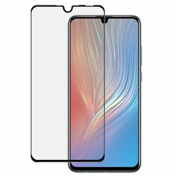 Защитное стекло для Huawei P30 lite new edition 2020 5D (полная проклейка), цвет: черный