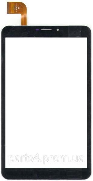 Тачскрин для планшета Digma Plane 8.5, 8.1, PS8085EG (DXP2-0350-080A/ZYD0101GXA-13 FPC V01/FPC-FC80J196-00), цвет: черный