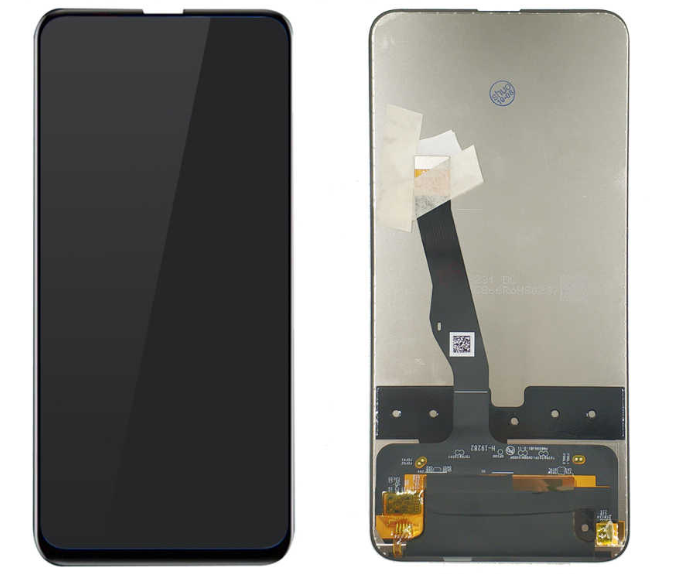 Экран для Huawei P smart Z 2019 (STK-LX1) с тачскрином, цвет: чёрный