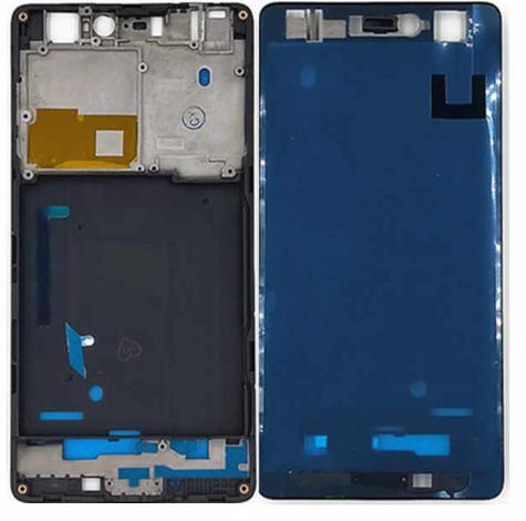 Средняя часть (рамка) для Xiaomo Mi4C, цвет: черный
