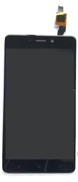 Экран для Xiaomi Redmi 4 16Gb с тачскрином, цвет: черный