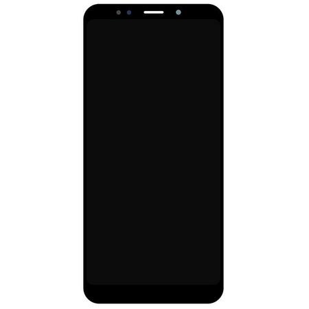 Экран для Xiaomi Redmi 5 Plus с тачскрином, цвет: черный