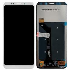 Экран для Xiaomi Redmi 5 Plus с тачскрином, цвет: белый