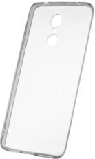 Чехол для Xiaomi Redmi 5 силиконовый, цвет: прозрачный