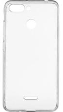 Чехол для Xiaomi Redmi 6 силиконовый, цвет: прозрачный