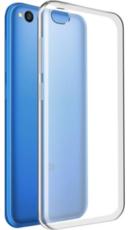 Чехол для Xiaomi Redmi Go силиконовый, цвет: прозрачный