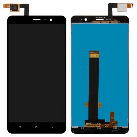 Экран для Xiaomi Redmi Note 3 с тачскрином, цвет: черный