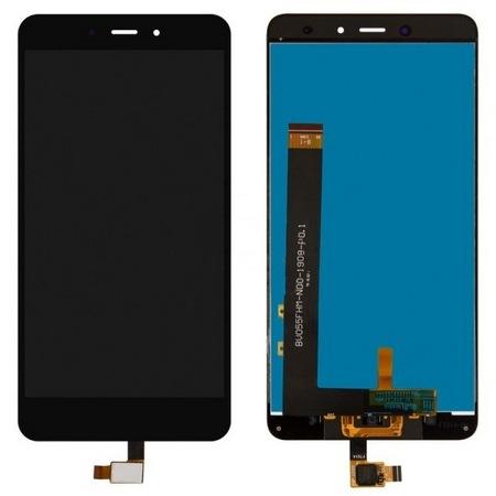 Экран для Xiaomi Redmi Note 4 с тачскрином, цвет: черный