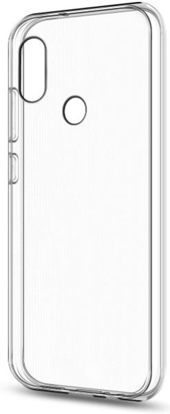 Чехол для Xiaomi Redmi Note 5 Pro силиконовый, цвет: прозрачный