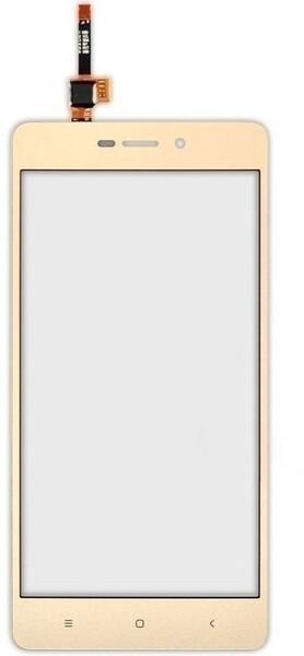 Тачскрин для Xiaomi Redmi 3, 3S, 3S Prime, цвет: золотой