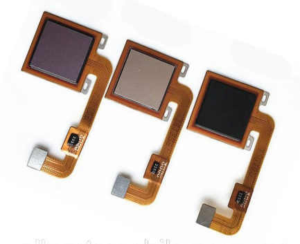 Шлейф для Xiaomi Redmi 4X в сборе со сканером отпечатком пальцев, цвет: золотой