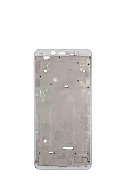 Средняя часть (рамка) для Xiaomi Redmi 6, Redmi 6A, цвет: белый