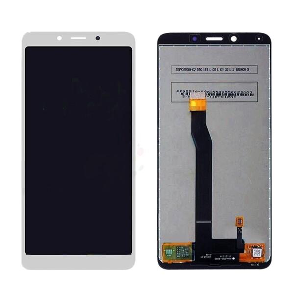 Экран для Xiaomi Redmi 6 с тачскрином, цвет: белый