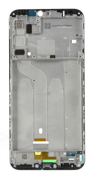 Средняя часть (рамка) для Xiaomi Redmi 6 Pro, Mi A2 Lite, цвет: черный