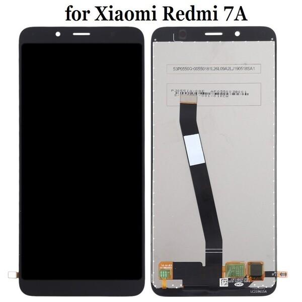 Экран для Xiaomi Redmi 7A с тачскрином, цвет: черный