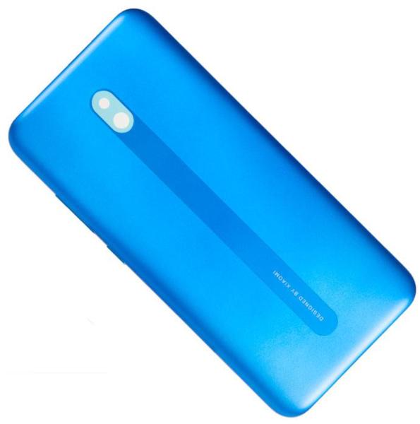Задняя крышка (корпус) для Xiaomi Redmi 8A, цвет: синий