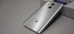 Задняя крышка для Xiaomi Redmi Pro цвет: темно серый
