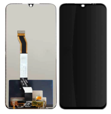 Экран для Xiaomi Redmi Note 8 с тачскрином, цвет: черный
