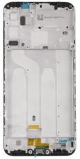 Средняя часть (рамка) для Xiaomi Redmi 6, цвет: черный