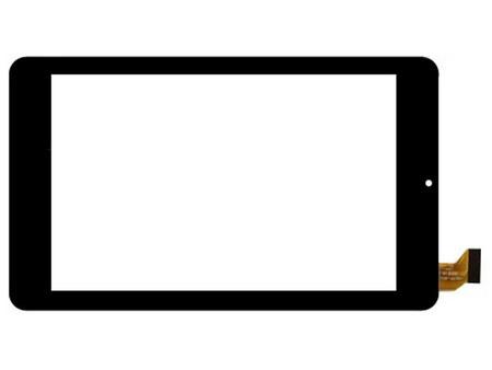 Тачскрин для планшета Irbis TZ03, TZ04, TZ05, TZ06, TZ07 (HSCTP-802-7-V1, HSCTP-802-7-V0), цвет: черный
