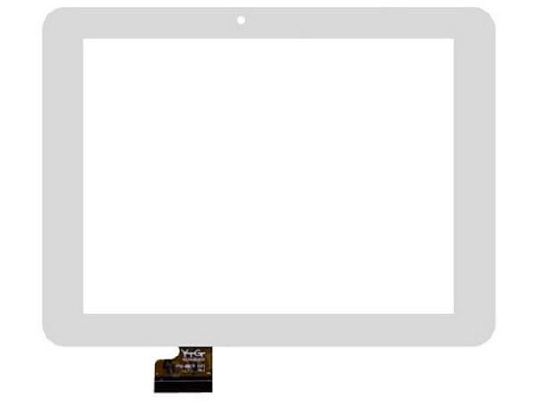 Тачскрин для планшета Prestigio PMP 3287 (YTG-G80022-F1), цвет: белый