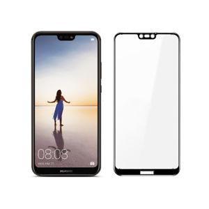 Защитное стекло для Huawei Y6 Prime 2018 5D (полная проклейка) цвет: черный