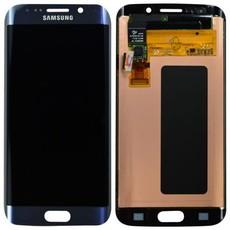 Экран для Samsung Galaxy S6 Edge (G925F) с тачскрином, цвет: черный оригинальный
