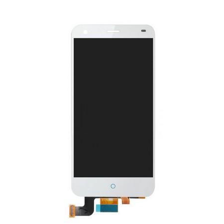 Экран для ZTE Blade S6 с тачскрином, цвет: белый