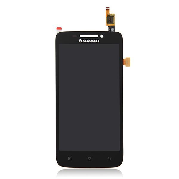 Экран для Lenovo S650 с тачскрином, цвет: черный