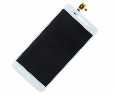 Экран для Lenovo S650 с тачскрином, цвет: белый
