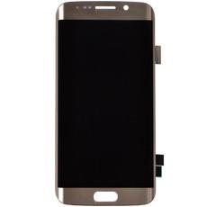 Экран для Samsung Galaxy S6 Edge (G925F) с тачскрином, цвет: золотой оригинальный