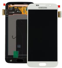 Экран для Samsung Galaxy S6 (G920F) с тачскрином, цвет: белый оригинальный