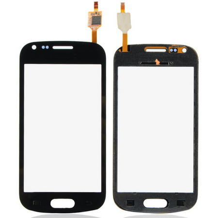 Тачскрин для Samsung Galaxy S Duos S7562, цвет: черный