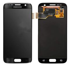 Экран для Samsung S7 (SM-G930) с тачскрином OLED, цвет: черный