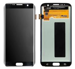 Экран для Samsung S7 Edge (SM-G935) с тачскрином OLED, цвет: черный