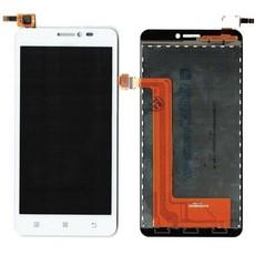 Экран для Lenovo S850 с тачскрином, цвет: белый