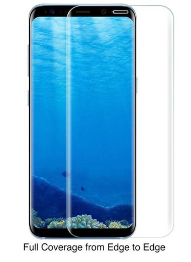 Защитное стекло для Samsung Galaxy S9 (SM-G960FD) 3D, цвет: прозрачный