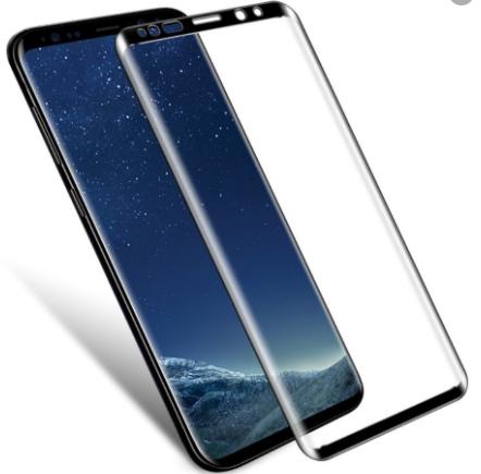 Защитное стекло для Samsung Galaxy S9 (G960F) 5D (полная проклейка) цвет: черный