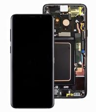 Экран для Samsung Galaxy S9 (SM-G960) с тачскрином, цвет: черный оригинальный