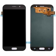 Экран для Samsung Galaxy A5 2017 (SM-A520F) с тачскрином OLED, цвет: черный