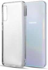 Чехол для Samsung Galaxy A50 силиконовый, цвет: прозрачный