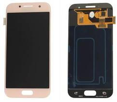 Экран для Samsung Galaxy A3 2017 (SM-A320F) с тачскрином, цвет: розовый (оригинал)
