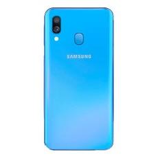 Задняя крышка (корпус) для Samsung Galaxy A40 (SM-A405), цвет: синий