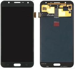 Экран для Samsung Galaxy J7 2015 (SM-J700H) с тачскрином OLED, цвет: черный