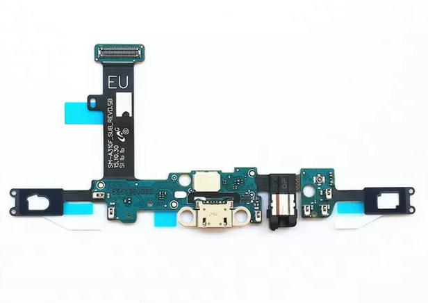 Нижняя плата для Samsung Galaxy A30 2019 (SM-A305) с разъемом зарядки и гарнитуры (наушников)