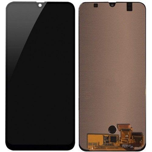 Экран для Samsung Galaxy A50 (SM-A505) OLED с тачскрином, цвет: черный