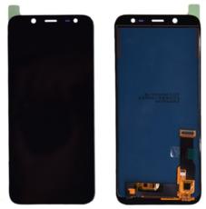 Экран для Samsung J6 2018 (SM-J600) с тачскрином OLED, цвет: черный